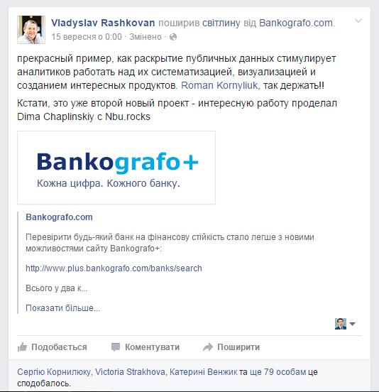 Vladyslav Rashkovan - Bankografo+